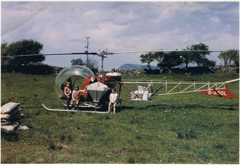 Helicopter Bell-47D G-ASOL