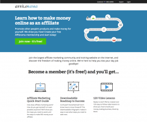 Free training in affiliate marketing