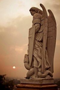 Saint Michael, Archangel of the South, Warrior