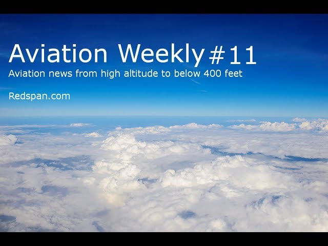 Aviation Weekly #11 –  Caister Lifeboat Drones, Stratolaunch, Icelandair in-flight performance