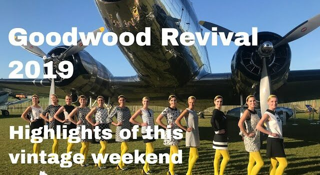Goodwood Revival 2019 Vintage Clothes, Cars, Aircraft, Bikes, Music