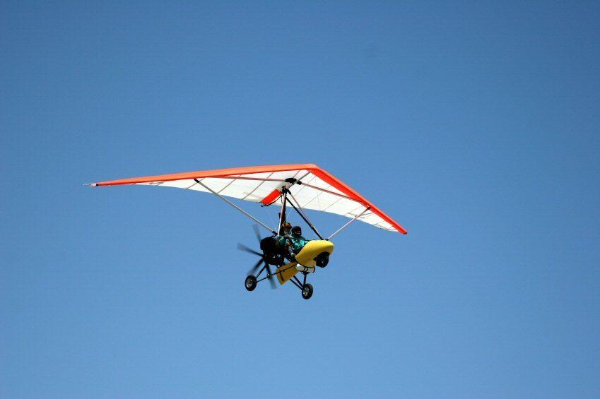learn to fly microlights