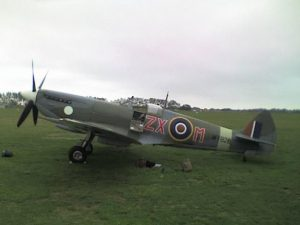 Spitfire at Goodwood