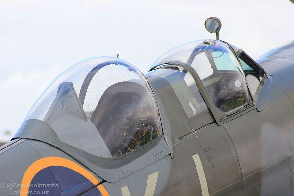 Spitfire Flights - Fly as pupil or passenger
