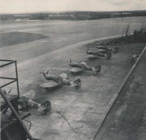 Hawker Tempest, RAF Fritzlar, Germany, 1945