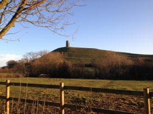 Glastonbury Tor Saint Michael's Tower