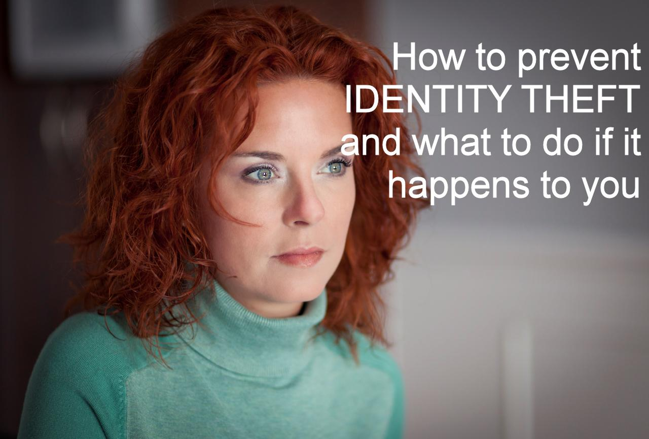How to prevent identify theft