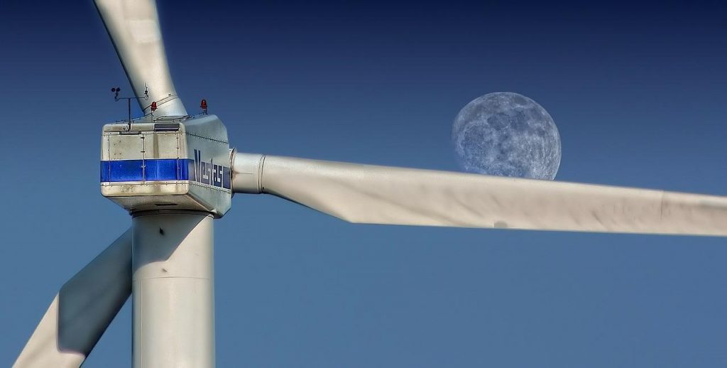wind power, wind turbines