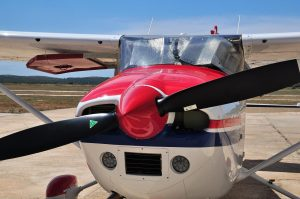 learning to fly in a cessna