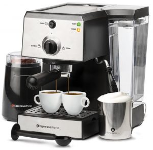 All-In-One Semi Automatic Espresso Machine