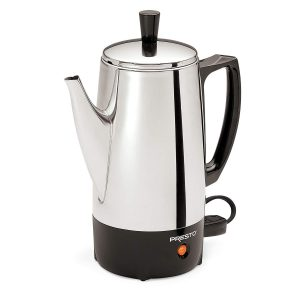 Presto 02822 6-Cup Stainless Steel Coffee Percolator