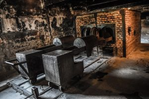 Gas ovens at Auschwitze