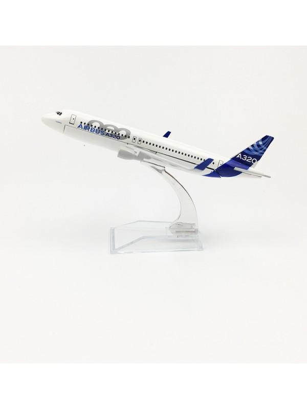 16cm metal diecast model of the original Airbus A320.