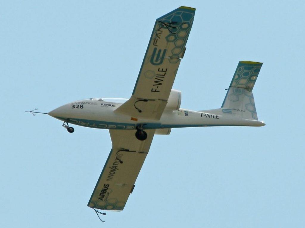 Airbus e-Fan electric aircraft