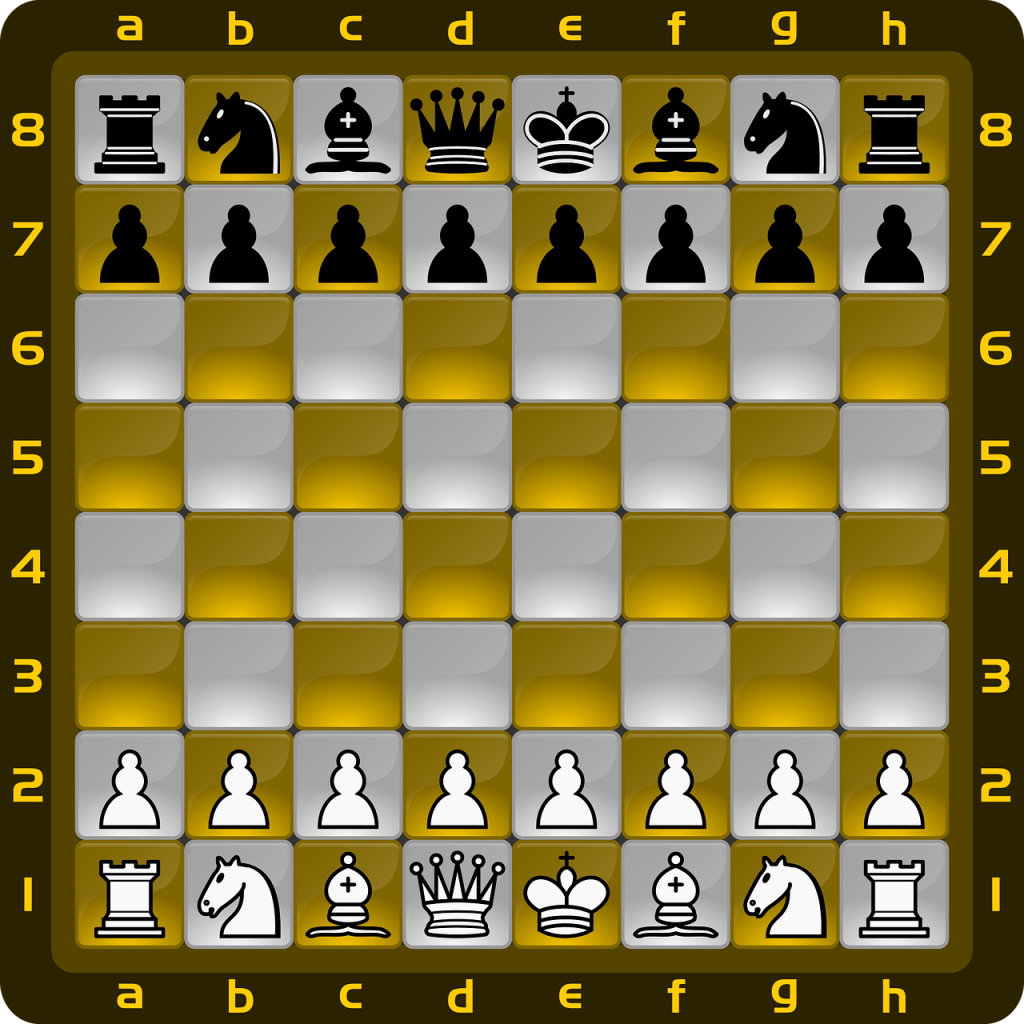 Online games - chess